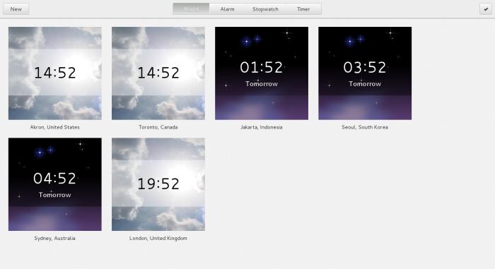 Managed Global Clocks