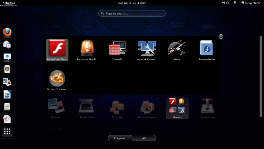 Launcher Folders in the Dashboard
