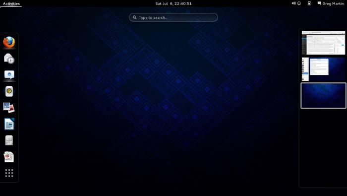 GNOME Shell Default Theme