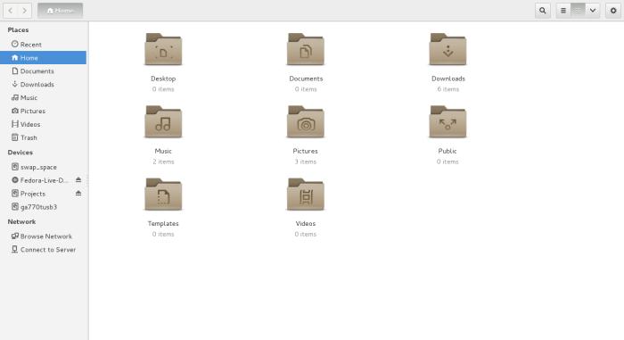 Shiny new GNOME icon theme